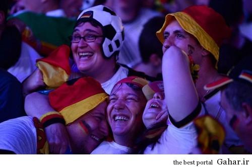 عکس های دیدنی از حواشی بازی برزیل و آلمان, جدید 1400 -گهر