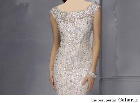 مدل شیک لباس شب کوتاه ۹۳, جدید 1400 -گهر
