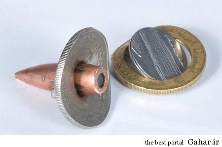 سکه ای که جان سرباز را نجات داد / عکس, جدید 1400 -گهر