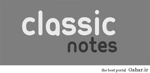 دانلود اپلیکیشن یادداشت برداری – Classic Notes Lite – Notepad 1.0.24, جدید 1400 -گهر