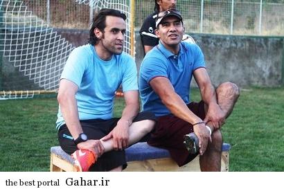 حضور علی کریمی در تمرینات تیم راه اهن, جدید 1400 -گهر