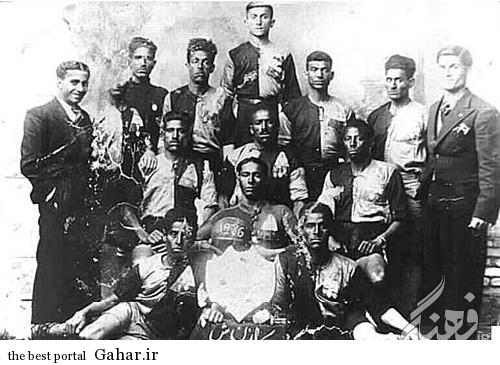 قدیمی ترین تیم فوتبال ایران در آبادان / عکس, جدید 1400 -گهر