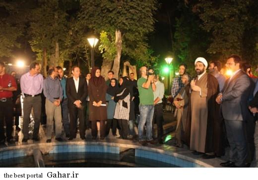حجت الاسلام مرادی در عروسی مجری معروف شبکه خبر / عکس, جدید 1400 -گهر