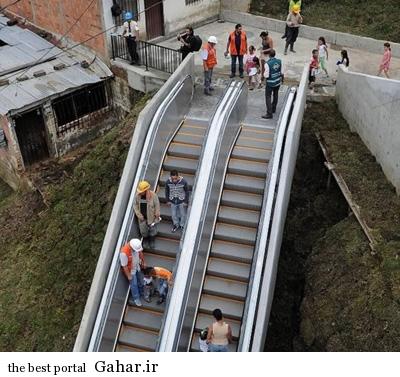 عجیبترین پله برقی دنیا, جدید 1400 -گهر