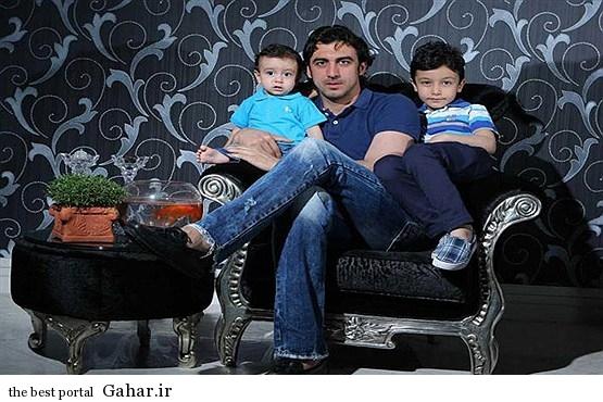 بازیکنان معروف فوتبال ایران و فرزندانشان / عکس, جدید 1400 -گهر