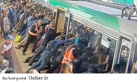 تلاش دیدنی و عجیب ۹۰ نفر برای نجات ۱ نفر / عکس, جدید 1400 -گهر