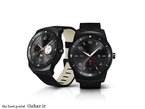 رونمایی ال جی از ساعت هوشمند  G Watch R, جدید 1400 -گهر