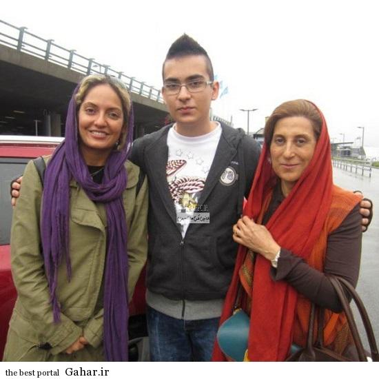 عکس های جدید مهناز افشار در کنار هوادارانش, جدید 1400 -گهر
