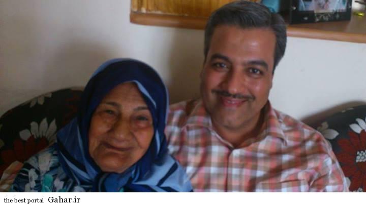 مجری معروف اخبار ورزشی در کنار مادرش / عکس, جدید 1400 -گهر