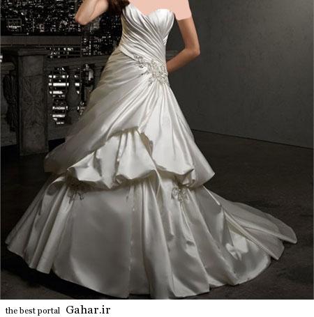 mo15354 مدلهای زیبا و شیک لباس عروس 2014