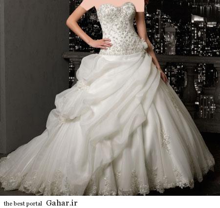 mo15356 مدلهای زیبا و شیک لباس عروس 2014