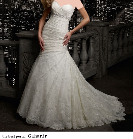 mo15357 مدلهای زیبا و شیک لباس عروس 2014