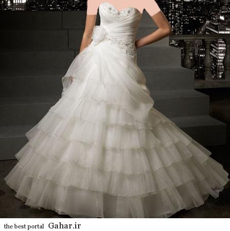 mo15359 مدلهای زیبا و شیک لباس عروس 2014