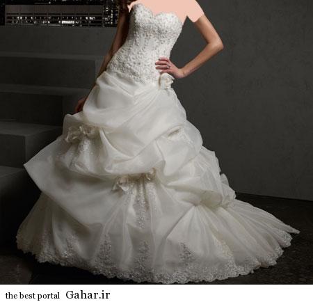 mo15360 مدلهای زیبا و شیک لباس عروس 2014