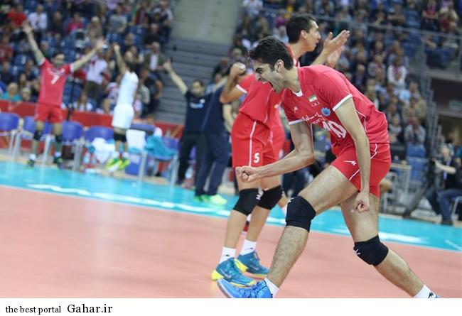 حاشیه های تصویری بازی والیبال ایران و آمریکا + عکس تماشاگران, جدید 1400 -گهر