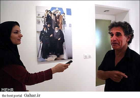 عکاسِ عکس معروف امام خمینی هنگام ورود به ایران, جدید 1400 -گهر