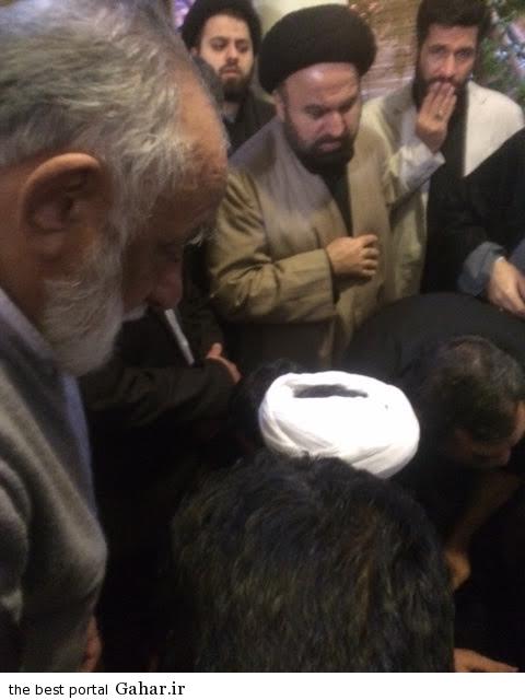 غسل و تکفین آیت الله مهدوی کنی / عکس, جدید 1400 -گهر