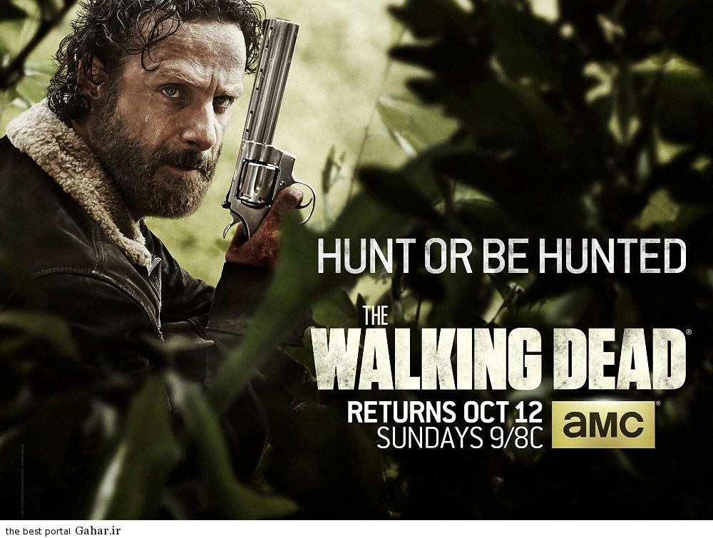 رکورد شکنی های عجیب فصل پنجم سریال The Walking Dead, جدید 1400 -گهر