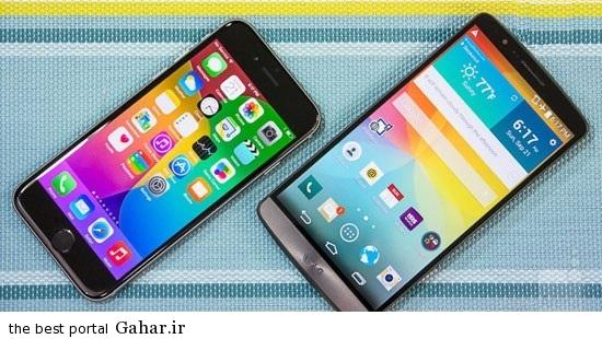 مقایسه جامع ۶ iPhone با LG G3, جدید 1400 -گهر