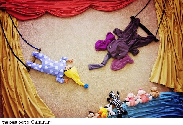686930 مادری که با خلاقیت فوق العاده نوزادش را جهانی کرد / عکس