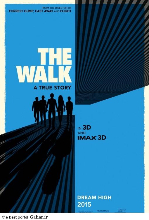 The Walk 2015 Poster دانلود تریلر فیلم جدید The Walk