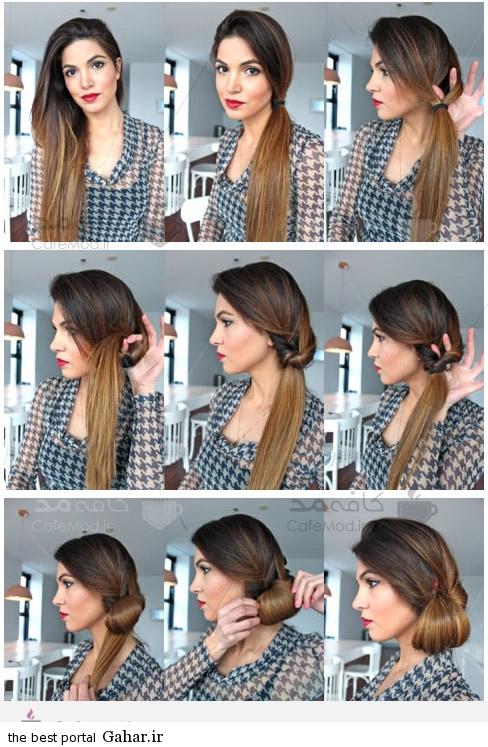 5510 آموزش تصویری بستن موی بلند