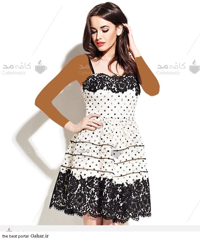 مدل لباس مجلسی برند Betsey Johnson, جدید 1400 -گهر
