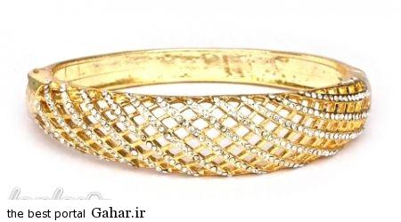 92150e7301 عکس هایی از شیک ترین مدل های دستبند طلا 2015
