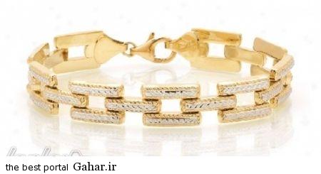 97d69aa79d عکس هایی از شیک ترین مدل های دستبند طلا 2015