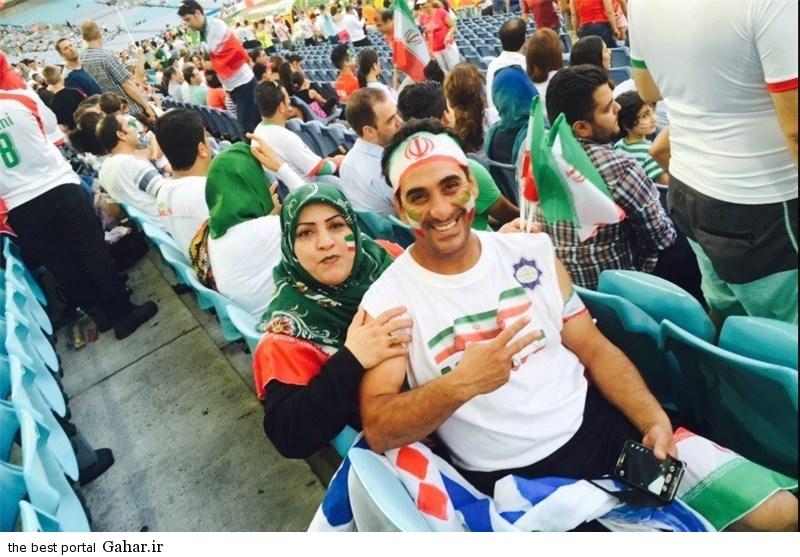 عکس های تماشاگران بازی ایران و قطر جام ملتهای آسیا, جدید 1400 -گهر