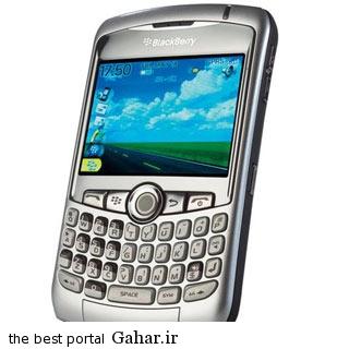 blackberry phone march08 5 گوشی موبایل قدیمی که محبوب بودند / عکس