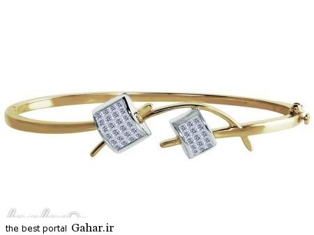 f115e94c7c عکس هایی از شیک ترین مدل های دستبند طلا 2015