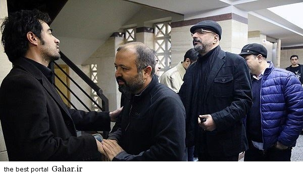 khatm pedar shahab 17 عکس های مراسم ختم پدر شهاب حسینی