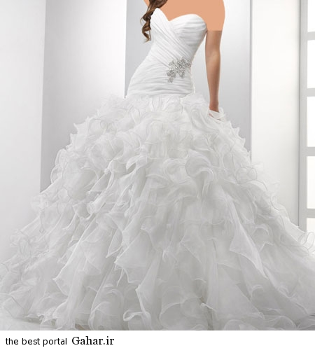 mo14879 شیک ترین مدل لباس عروس اسپانیایی