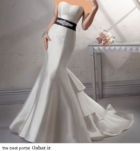mo14884 شیک ترین مدل لباس عروس اسپانیایی