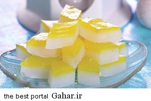 muscat color and its preparation method طرز تهیه مسقطی دو رنگ