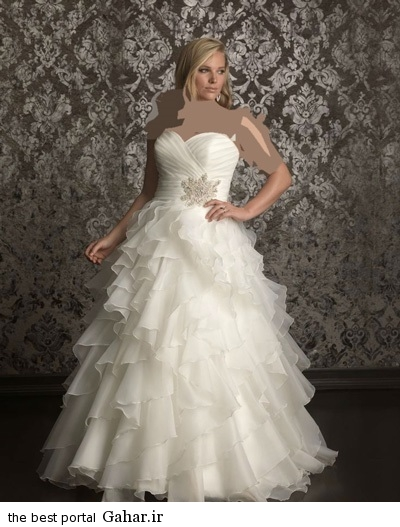 مدل لباس عروس شیک ۲۰۱۵, جدید 99 -گهر