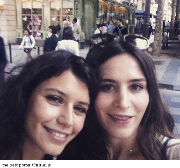 عکس سلفی جدید فاطما گل در پاریس, جدید 99 -گهر