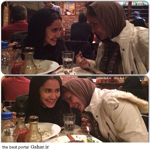 IMG10543701 عکس متفاوت الناز شاکردوست و خواهرش الیکا