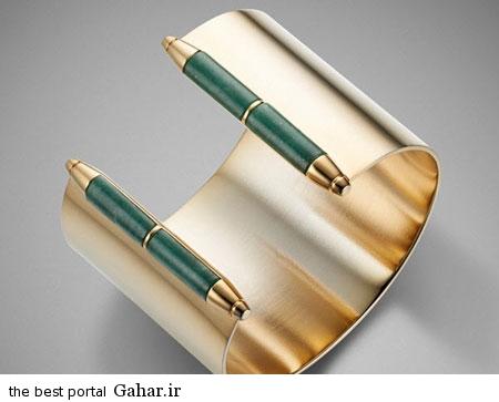عکسهایی زیبا از مدل دستبند طلا ۲۰۱۵, جدید 1400 -گهر