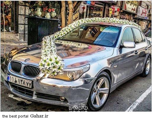 خاص ترین و گرانترین ماشین عروس در ایران / عکس, جدید 1400 -گهر