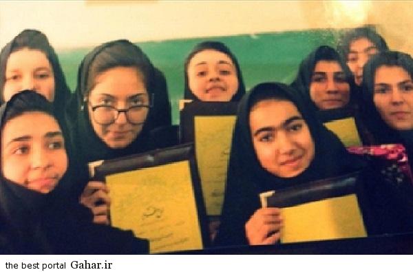 مهناز افشار در دوران دبیرستان / عکس, جدید 99 -گهر