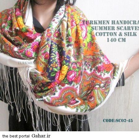 4 103 جدیدترین مدل های روسری بهار 94
