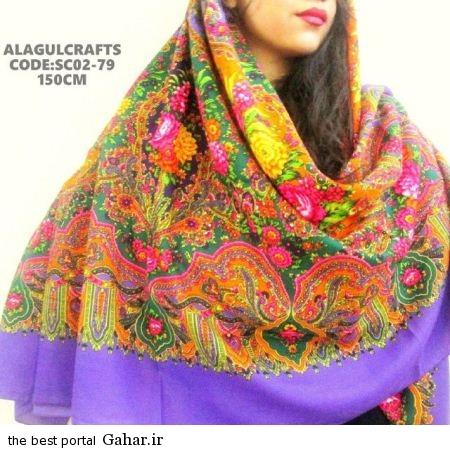 4 133 جدیدترین مدل های روسری بهار 94