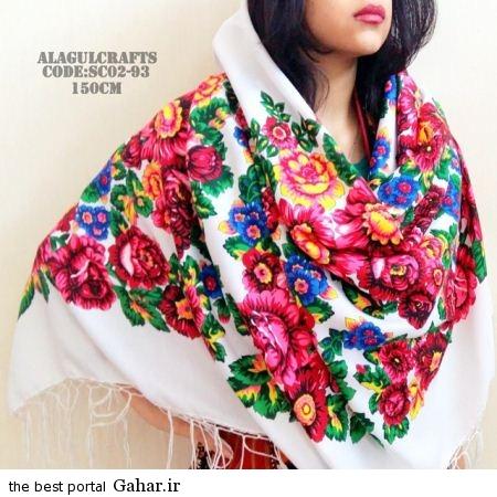 4 45 جدیدترین مدل های روسری بهار 94