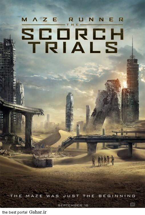 دانلود تریلر فیلم جذاب Maze Runner: The Scorch Trials 2015, جدید 1400 -گهر