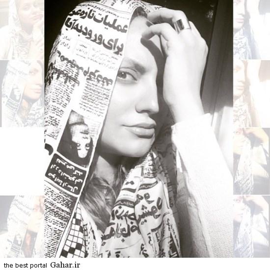 خبرساز شدن شال طرح روزنامه مهناز افشار /عکس, جدید 1400 -گهر