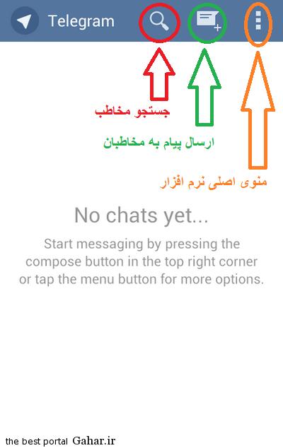 Telegram Main آموزش تلگرام