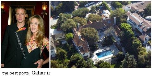 خانه های مجلل زوج های معروف هالیوودی + عکس, جدید 99 -گهر