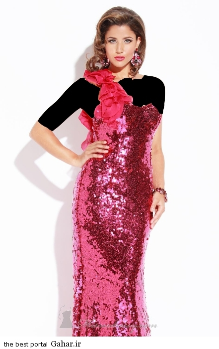 مدل های لباس مجلسی پولک کاری شده ۲۰۱۵, جدید 1400 -گهر